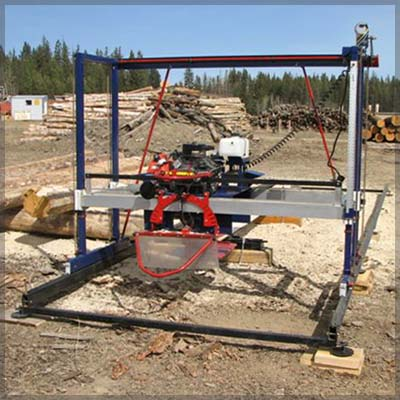 180 Degree Double Cut Sawmill
